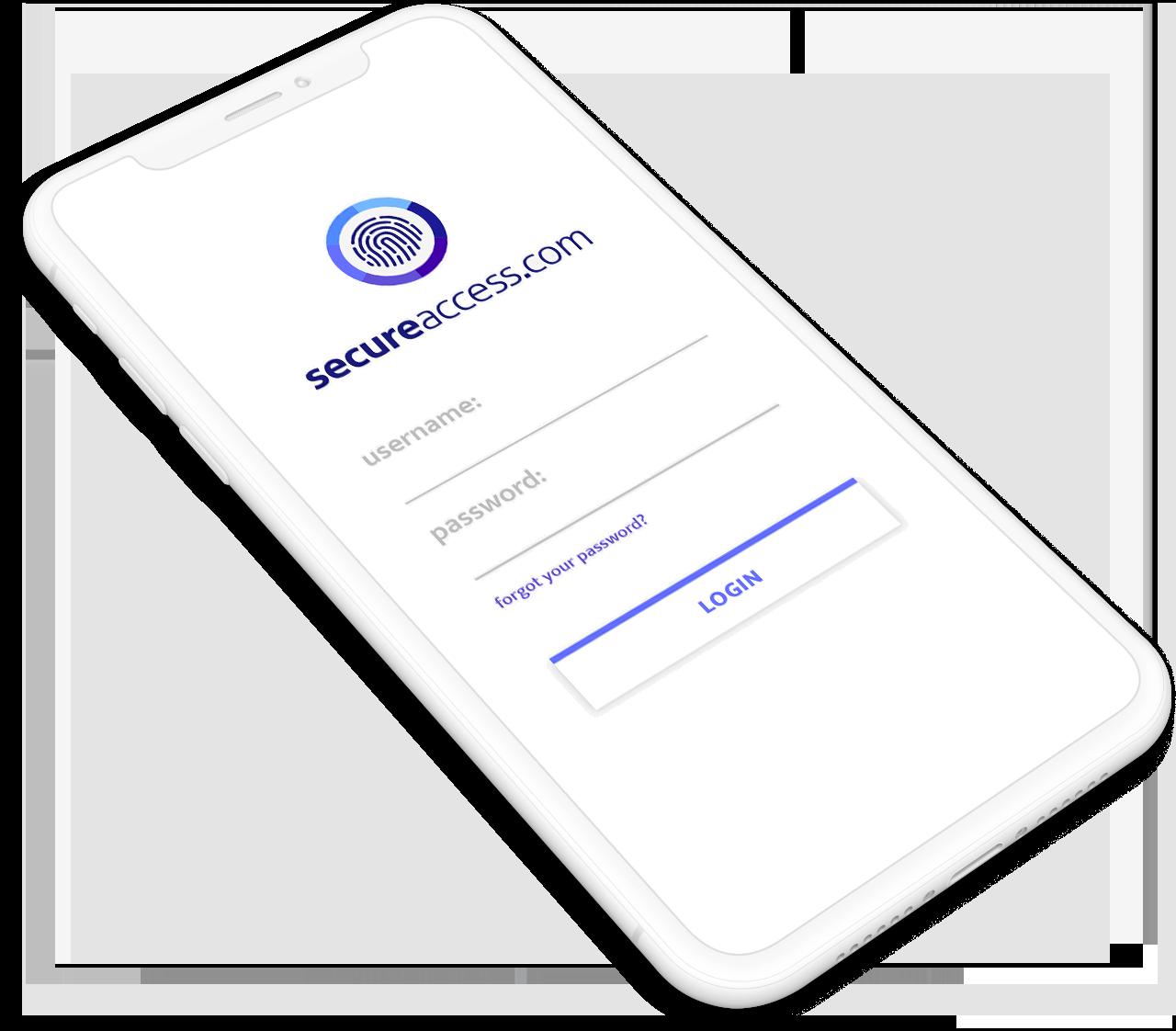 Secure Access App login