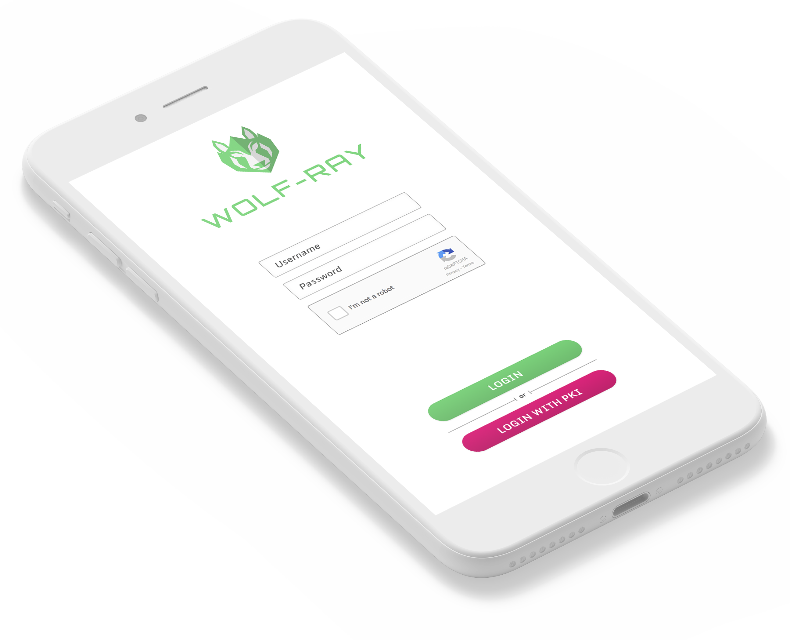 WOLF-RAY VPN Authentication